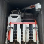 中古農機具の輸出一例